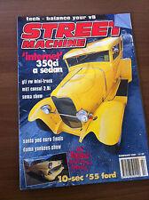 Street Machine Magazine February 2001 Mk1 Consul, VW Caddy, Chevy Astro, 55 Ford