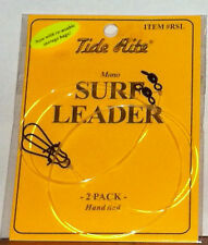 Fish Supplies Saltwater Tide Rite Surf Leader item # RSL 2 pack