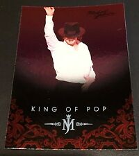 MICHAEL JACKSON 2011 Panini PLATINUM Parallel SP #40 The King Of Pop VERY RARE