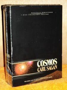 Cosmos Complete Series (DVD, 2016, 7-Disc) collectors edition Carl Sagan scifi
