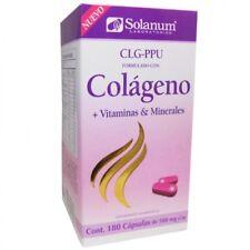 Solanum~Colágeno~Vitamins & Minerals~180 Capsules-500mg~Helps Cell Regeneration