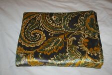 "Envogue Throw Gold Green Gray Floral Soft Luxury Warm Winter Blanket 50"" x 65"""