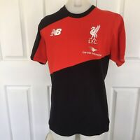 New Balance Red Boys T-Shirt Size S As New - L.F.C. LFC Garuda Indonesia