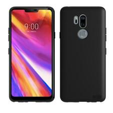 LG G7 FlexiCase Smartphone Cover in Black by Orzly