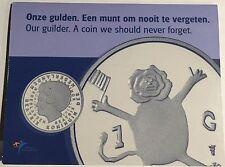 """Netherlands 2001 Guilder """"The Last Guilder"""" In mint packaging """"Last Gulden"""""""