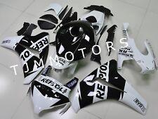 For CBR1000RR 2008-2011 Black White Repsol ABS Injection Mold Bodywork Fairing