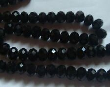 Crystal Jewellery Making Assortment Black Beads