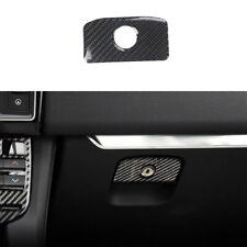 For Jaguar XE 2016-2019 Real Carbon Fiber Co-Pilot Storage Box Handle Sticker