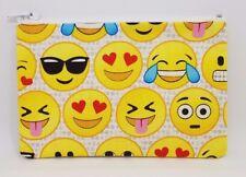 Funky Emoji Fabric Handmade Zippy Coin/Card Money Purse Storage Pouch