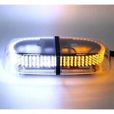Oval Emergency Warning or Mini Bar Strobe Light 12v Dc Magnetic Base Amber