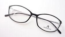 Brille Brillenfassung Rodenstock schwarz unisex Metall Bügel leicht frame Gr M