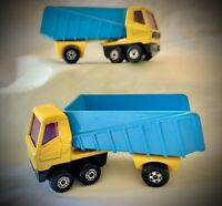 Vintage 1973 Lesney Matchbox - LOT of 2 - Superfast Articulated Truck No. 50