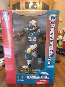 "Ricky William NFL Miami Dolphins McFarlane's Sportspicks 12"" Series One 2003-NEW"
