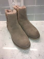 NEW NWT NIB UGG Shala Wedge UGG Snow Shoes Boots Fawn WARM COZY BEAUTIFIL 11