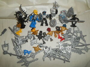 LEGO Bionicle Minifigures Hero Factory Exo-Force Weapons Accessories Parts Lot