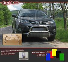 TOYOTA RAV4 RAV 4 MK4 2013+ BULL BAR, NUDGE BAR, A BAR +GRATIS //STAINLESS STEEL