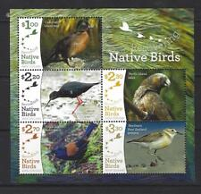 NEW ZEALAND 2017 RECOVERING NATIVE BIRDS MINIATURE SHEET UNMOUNTED MINT, MNH