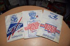 Lot of 3 Vintage Street Rod Nationals Registration Packets