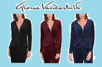 NEW!!! GLORIA VANDERBILT Ladies' Ladies Full Zip Front Jacket, VARIETY!!!