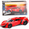 1:24 JADA FAST AND FURIOUS 7 LYKAN HYPERSPORT RED DIECAST VEHICLE CAR TOY GIFT
