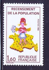 FRANCE 2202 a.VARIETE: sans le 7. TRES BEAU. Neuf xx, Cote YVERT 15€,
