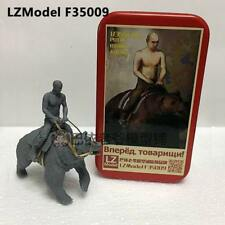 LZModel F35009 1/35 Resin Figure Russian President Vladimir Putin Ride Bear