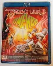 DRAGONS LAIR II 2 TIME WARP Blu Ray Brand New Sealed Arcade Classic Don Bluth