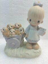 Precious Moments~God Loveth A Cheerful Giver~1977~Rare~Flawless Condition-No Box