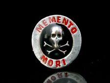 Pin Totenkopf Skull & Bones Schädel Memento Mori  Vanitas Masonic Freimaurer