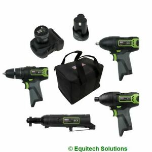 Sealey CP108VCOMBO2 Cordless Combo Kit 10.8V 2 Batteries Drill Impact Wrench
