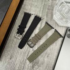 Nylon / Correa de Reloj Cuero Lona Banda para Apple 6 Se 5 4 38/40mm 42/44mm