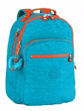 Kipling Clas Seoul Large Backpack AQUATIC BLUE C Authentic Genuine NWT USA Ship