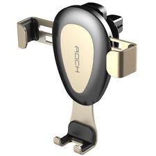 ROCK Support Téléphone Voiture à grille D'aération Rotation 360 iPhone GPS