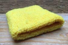 Bright Yellow Fabric Retro Sweatband/Bright/Kitsch/80's/Fancy Dress/Arm Band