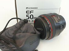 Canon EF 50mm F/1.2 L USM Lens Superb Condition