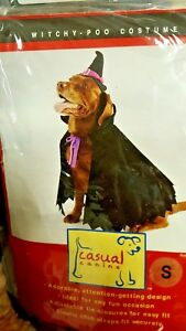 WITCH COSTUME, DOG COSTUME, NEW, halloween costume for your pet