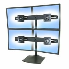 Ergotron DS Series Ds100 Quad Monitor Desk Stand - Flat Panel Mounts (14 kg ...