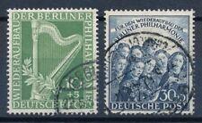 Gestempelte Briefmarken aus Berlin (1949-1990) mit Kunst-Motiv als Satz