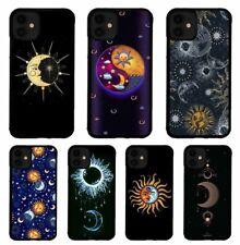 The Sun and Moon Love Tattoo TPU iPhone SE X XS XR 11 12 Mini Pro Max Case Cover