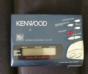 Kenwood Portable Mini-disc Recorder DMC-G7R with accessories and 17 new discs