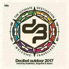 AUDIOTRICZ, ANGERFIST & ADARO - DECIBEL OUTDOOR 2017  3 CD NEU