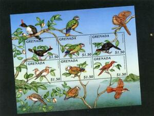 Grenada (Gren) 1996 Birds Scott# 2579 Mint NH