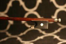 Bel archet de violon ancien Charles Nicolas Bazin à restaurer - old violin bow.