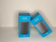 Brand New Sealed  Amazon - Echo (3rd Gen) Smart Speaker with Alexa - Charcoal!!