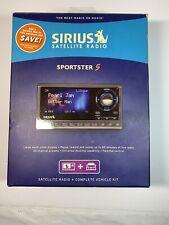 Sirius Satellite Radio Sportster 5 And Vehicle Kit Active subscription
