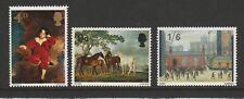 GB 1967 British Paintings SG 748 - 750 MNH