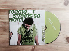 Toddla T Streets So Warm Promo CD 2011 Ninja Tune