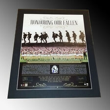 HONOURING OUR FALLEN 100 YEAR ANZAC COLLINGWOOD PENDLEBURY BUCKLEY SIGNED PRINT