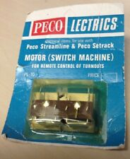 Peco HO Scale # PL-10  Motor Switch Machine Fitting HO/OO & O Turnouts