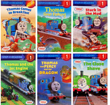 Step Into Reading Step1 Thomas & Friends,Percy & Dragon,Goes Fishing+6 Paperback